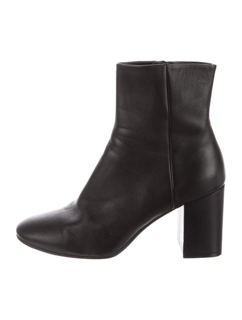 Balenciaga Ankle Boots Leather Boots Black