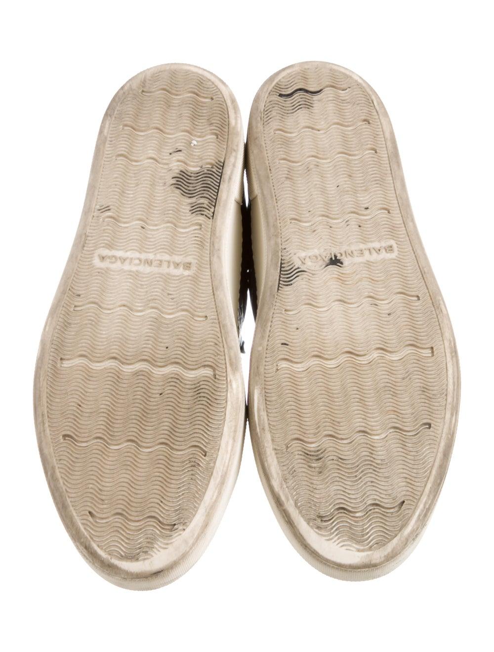 Balenciaga Cap-Toe Low-Top Sneakers Gris - image 5
