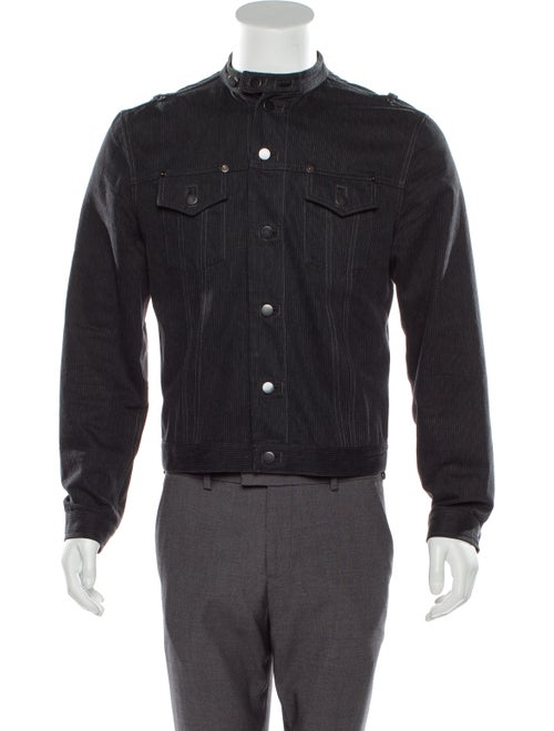 Balenciaga Vintage Pinstripe Jacket denim