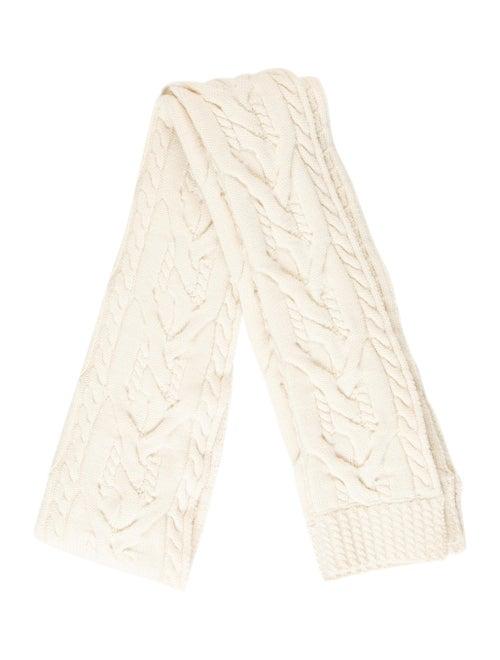 Balenciaga Long Wool Scarf wool