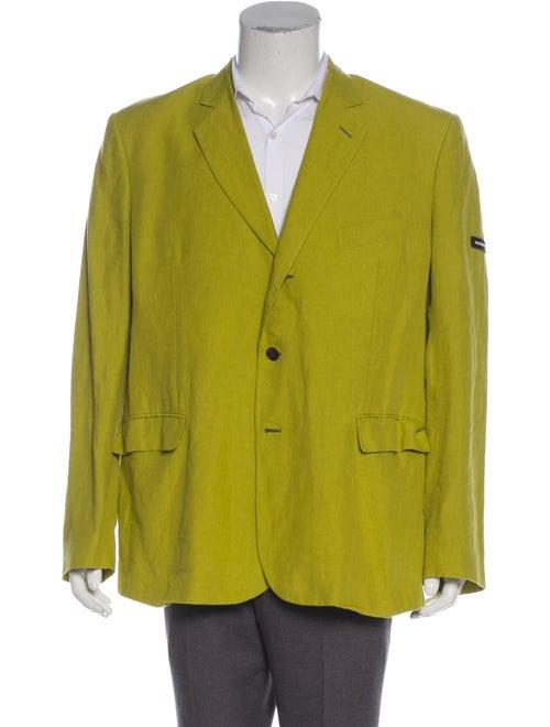 Balenciaga 2018 Linen Blazer chartreuse