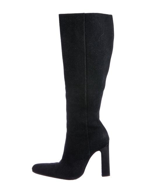 Balenciaga Denim Boots Denim