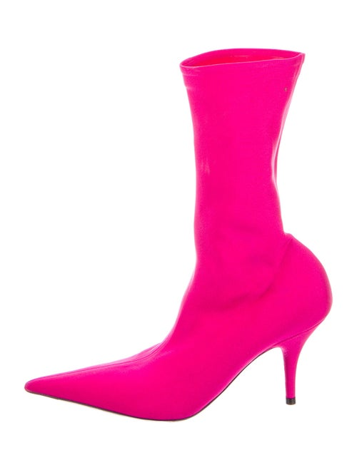 Balenciaga Sock Boots Pink
