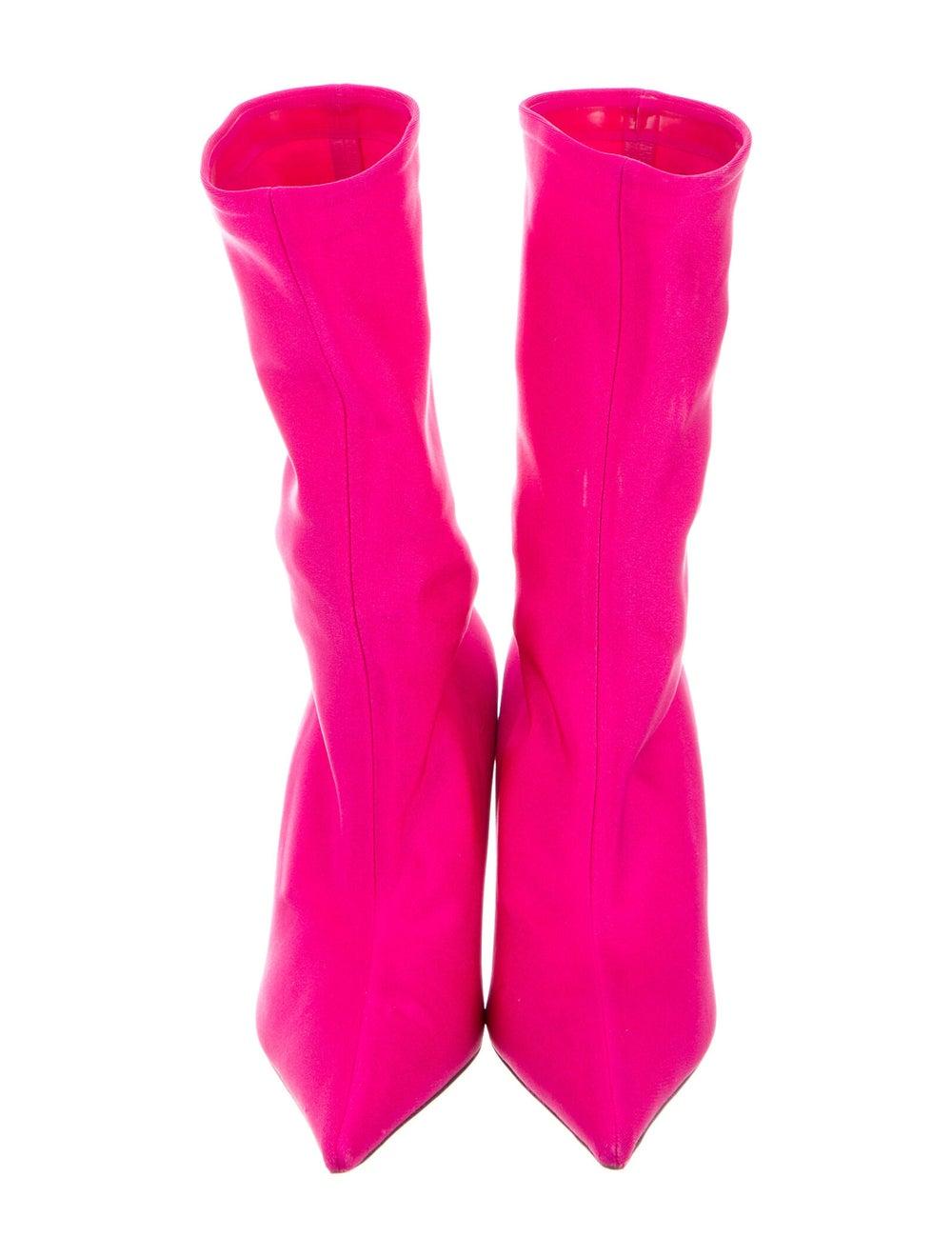 Balenciaga Sock Boots Pink - image 3