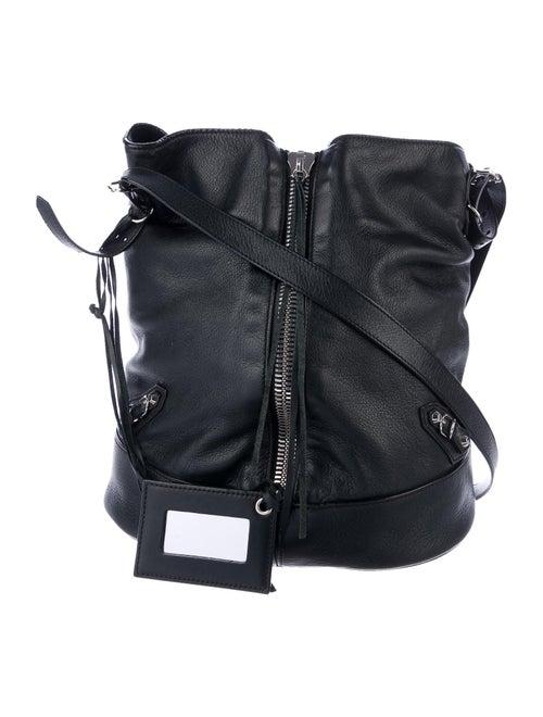Balenciaga Papier Drop Bucket Bag Black