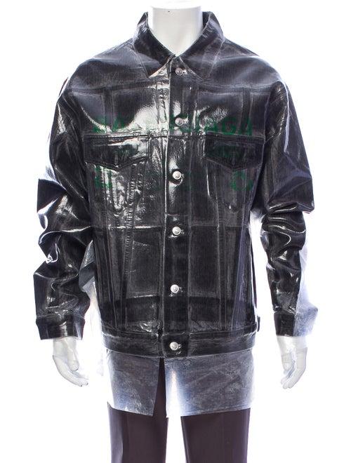 Balenciaga 2018 Dry Clean Big Denim Denim Jacket w