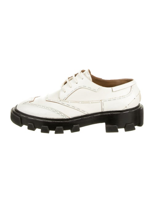 Balenciaga Leather Oxfords - image 1