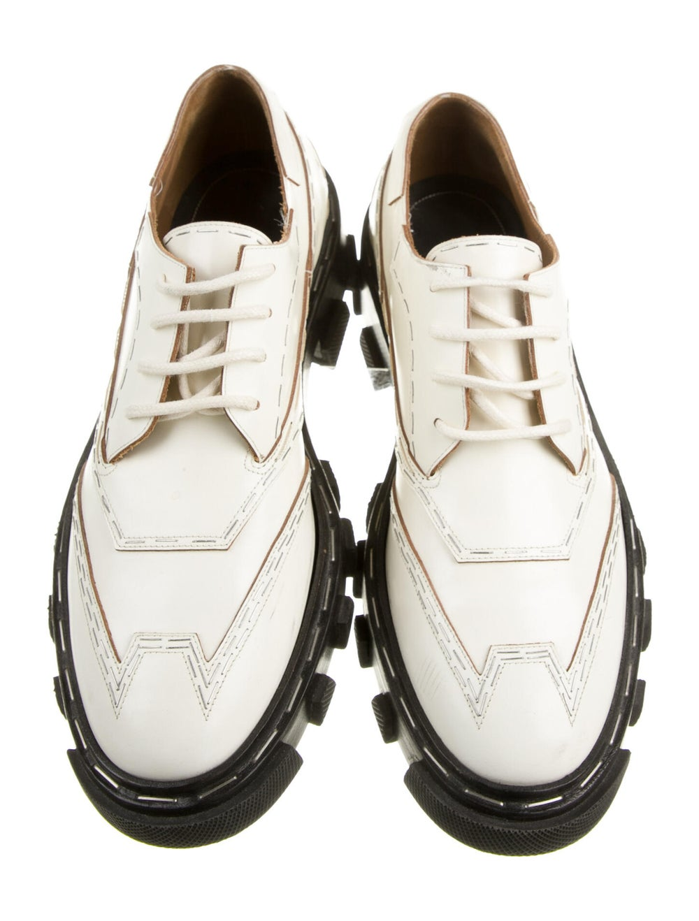 Balenciaga Leather Oxfords - image 3