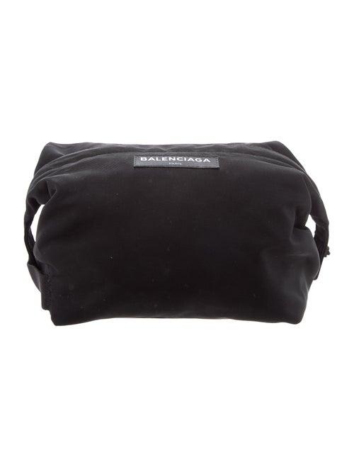 Balenciaga Explorer Wash Bag Black