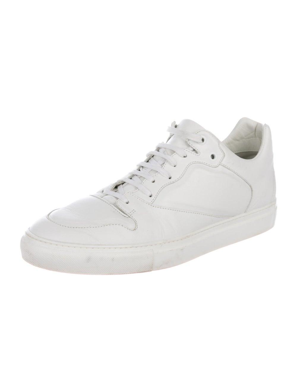 Balenciaga Leather Sneakers White - image 2