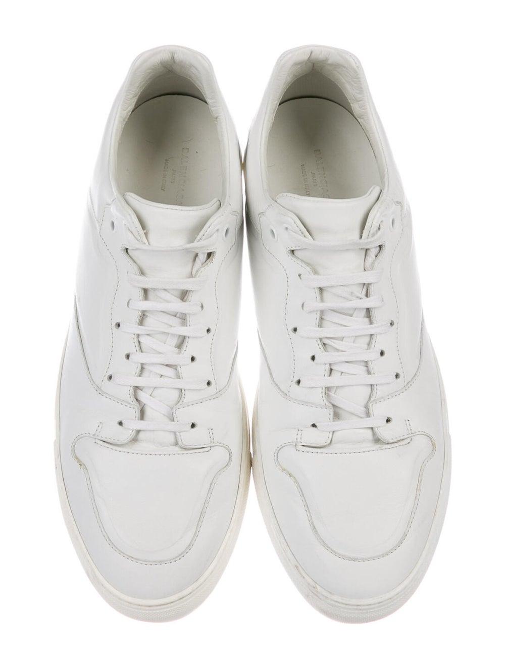 Balenciaga Leather Sneakers White - image 3
