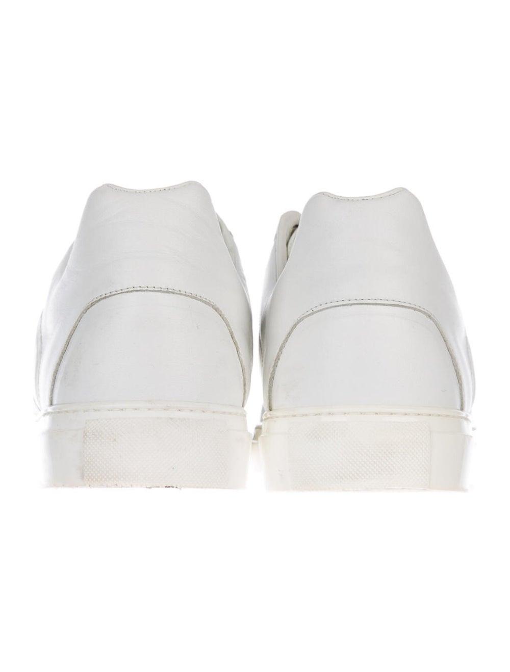 Balenciaga Leather Sneakers White - image 4