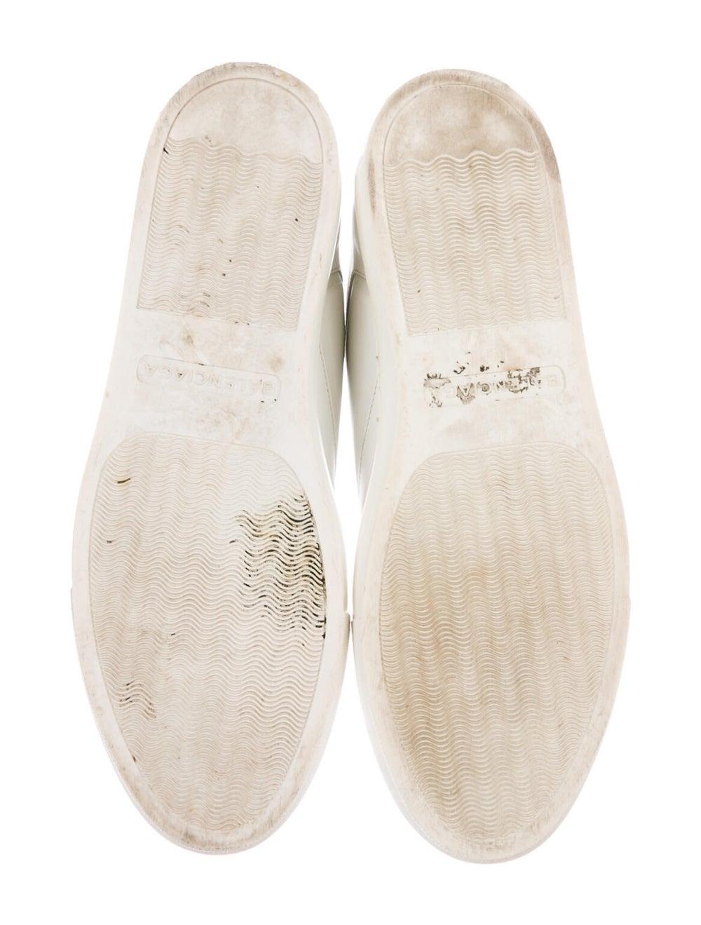 Balenciaga Leather Sneakers White - image 5