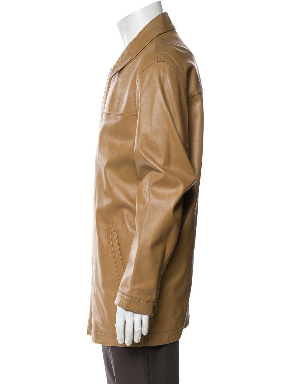 Balenciaga Lamb Leather Jacket - image 2