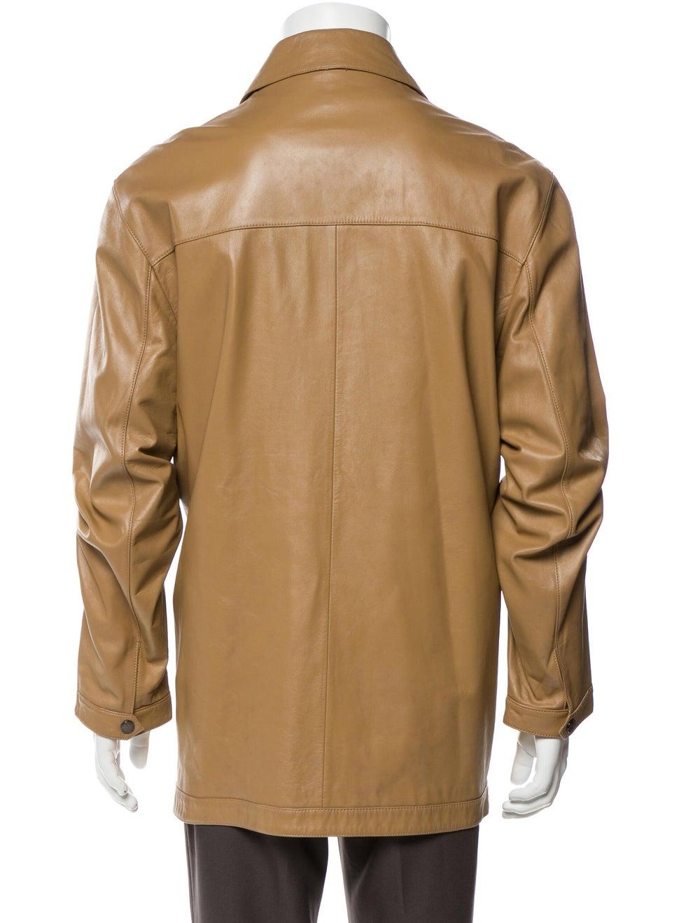 Balenciaga Lamb Leather Jacket - image 3