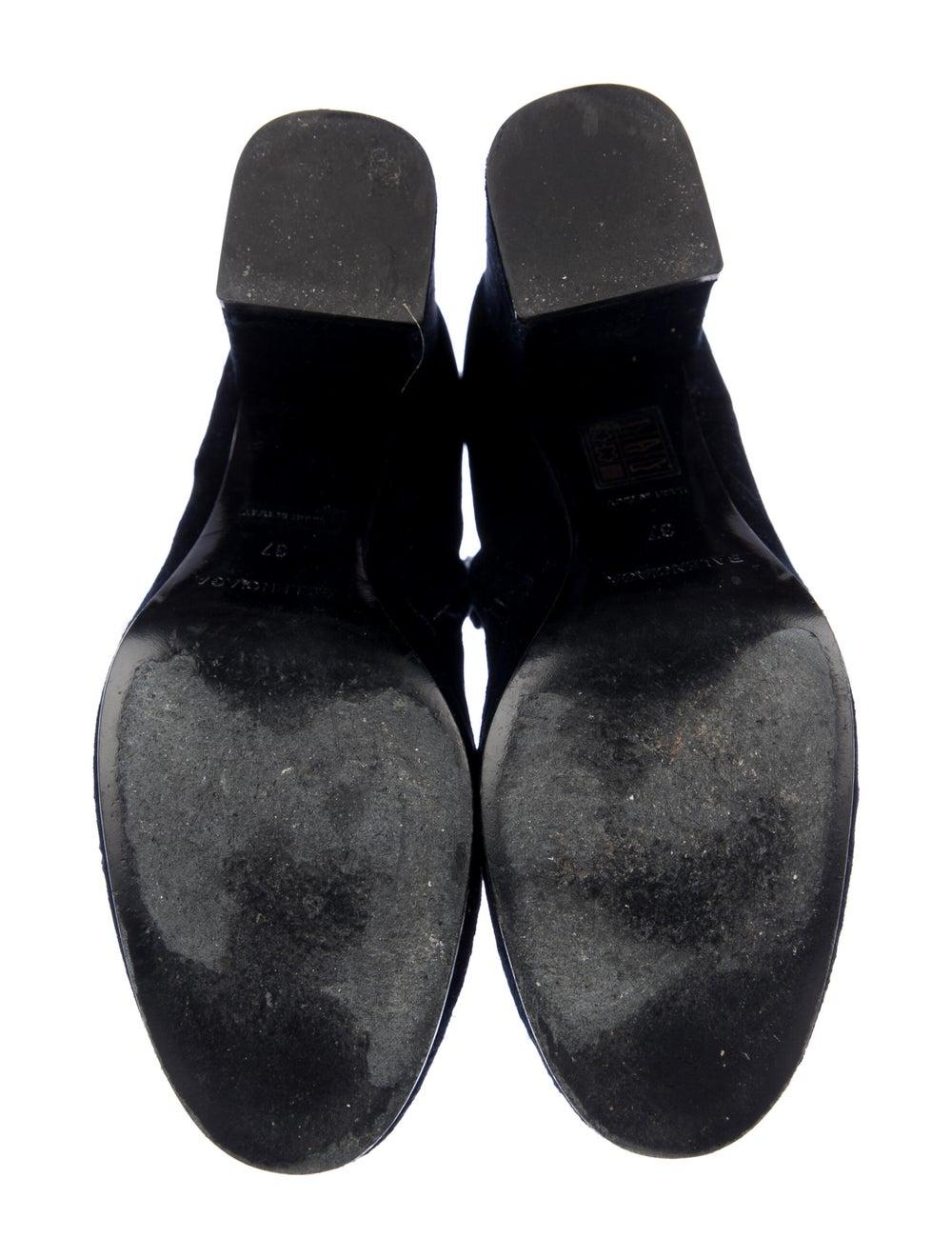 Balenciaga Boots Blue - image 5