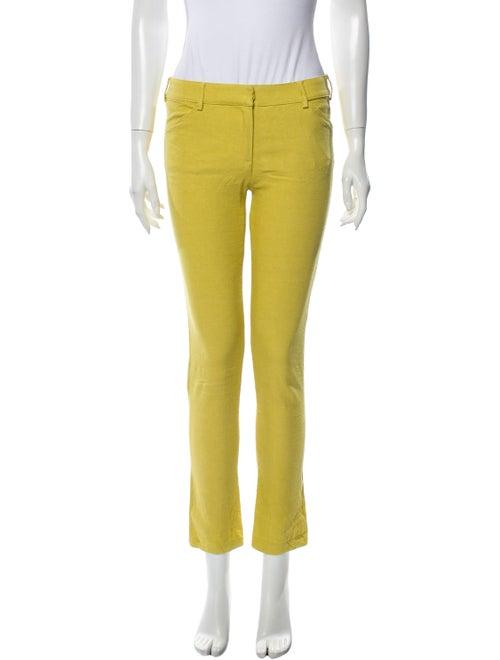 Balenciaga 2011 Skinny Leg Pants Yellow