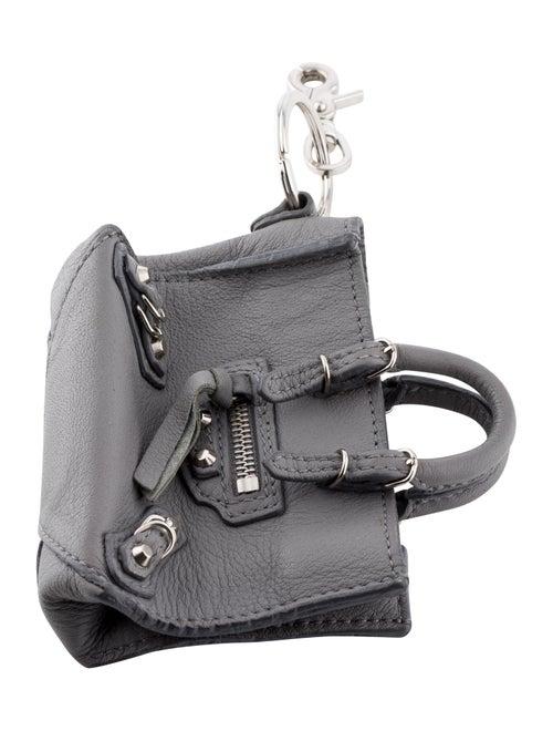 Balenciaga Papier Bag Charm Grey