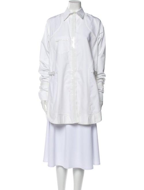Balenciaga Long Sleeve Tunic White