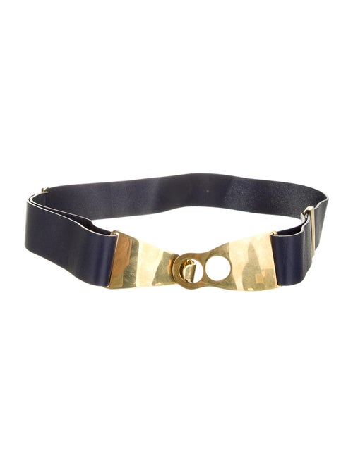 Balenciaga Leather Belt gold