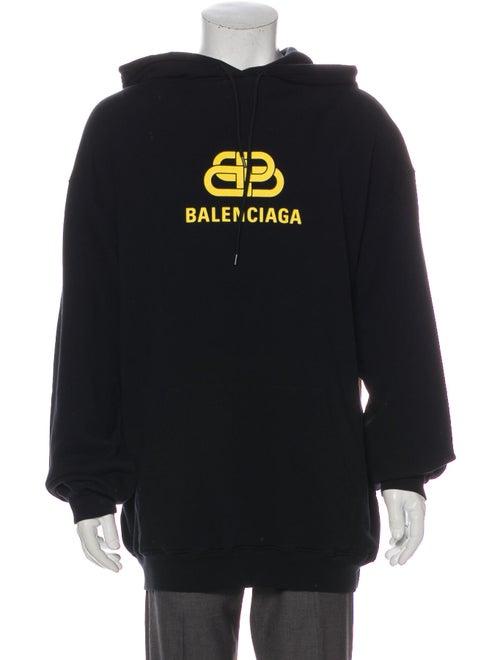 Balenciaga 2019 Logo Hoodie Black