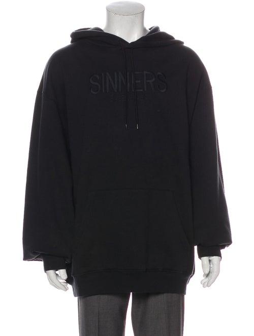 Balenciaga 2018 'Sinners' Hoodie Black