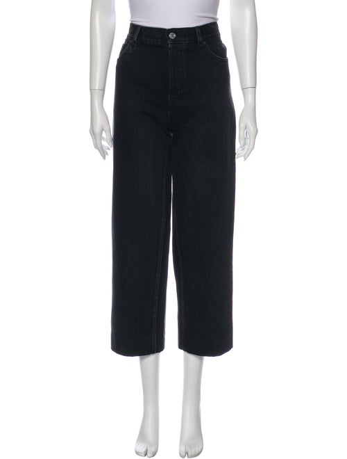 Balenciaga 2019 Wide Leg Jeans Grey