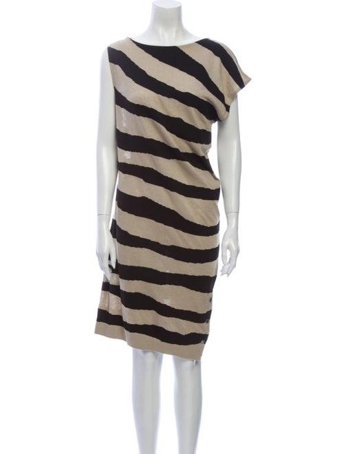 Balenciaga 2011 Midi Length Dress