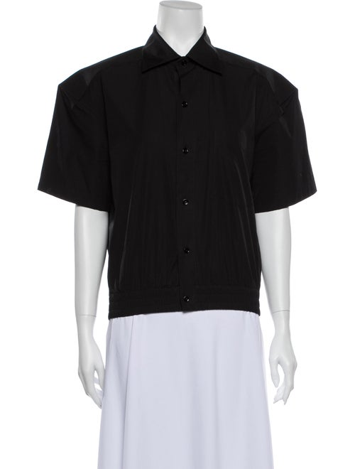 Balenciaga Short Sleeve Shirt Black