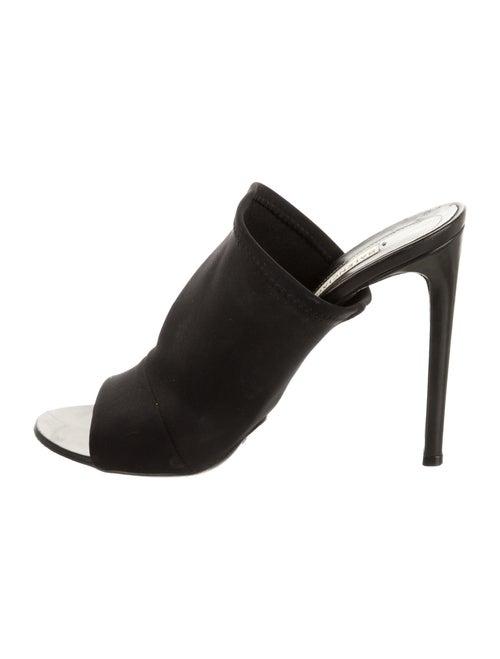 Balenciaga Slides Black