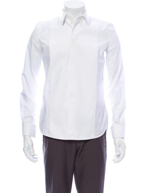 Balenciaga Long Sleeve Dress Shirt White