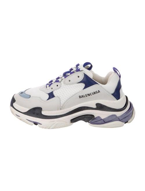 Balenciaga Triple S Chunky Sneakers Blue - image 1