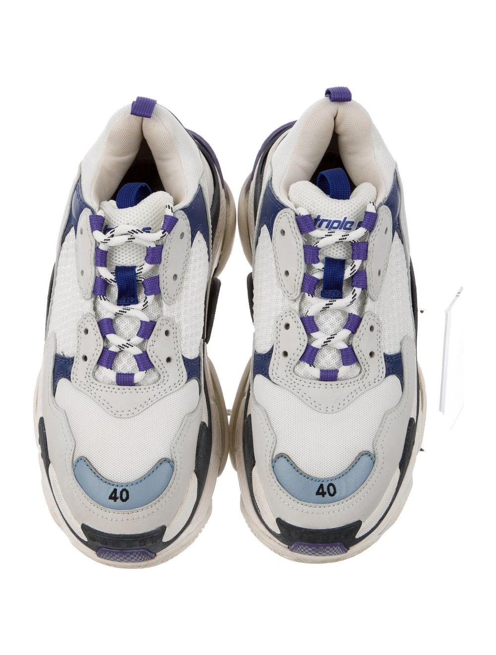 Balenciaga Triple S Chunky Sneakers Blue - image 3
