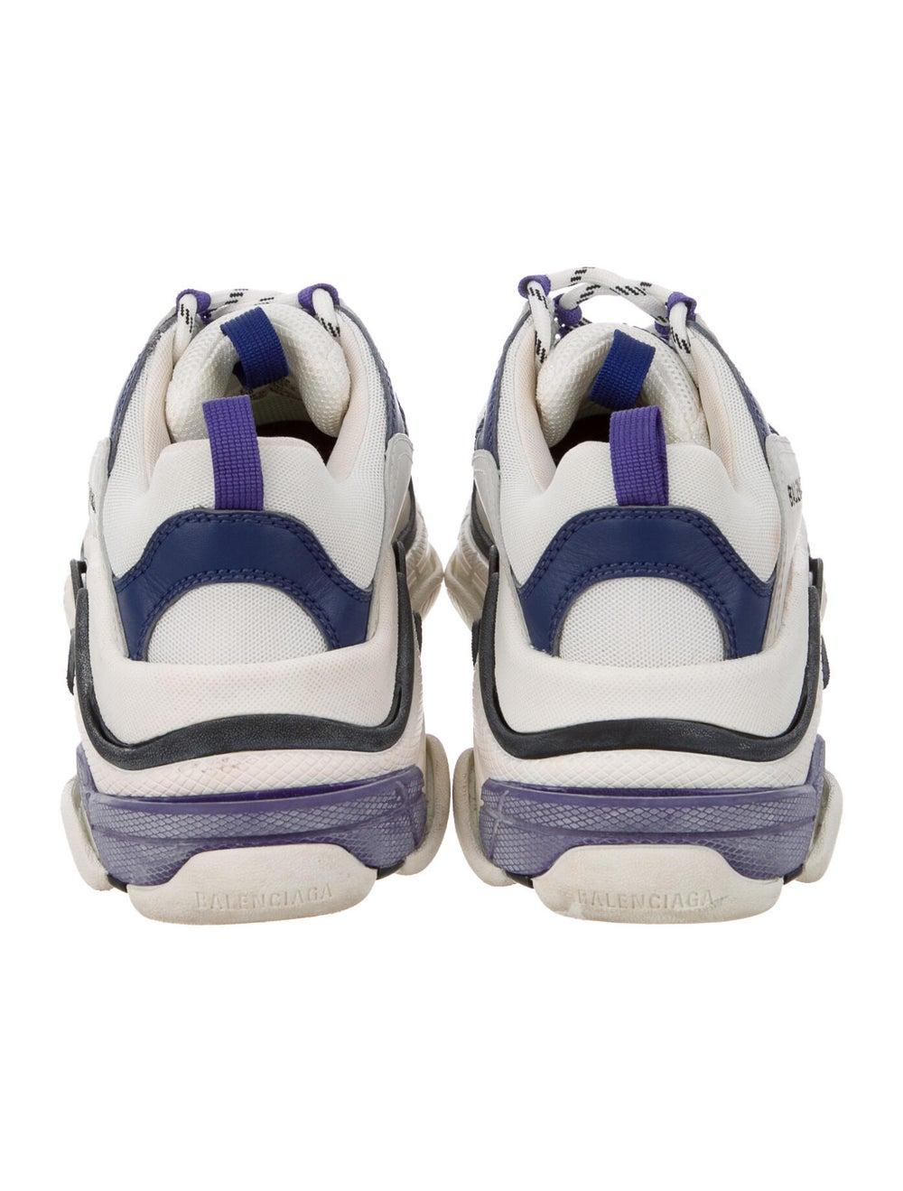 Balenciaga Triple S Chunky Sneakers Blue - image 4