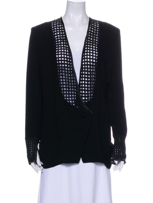 Balenciaga Evening Jacket Black
