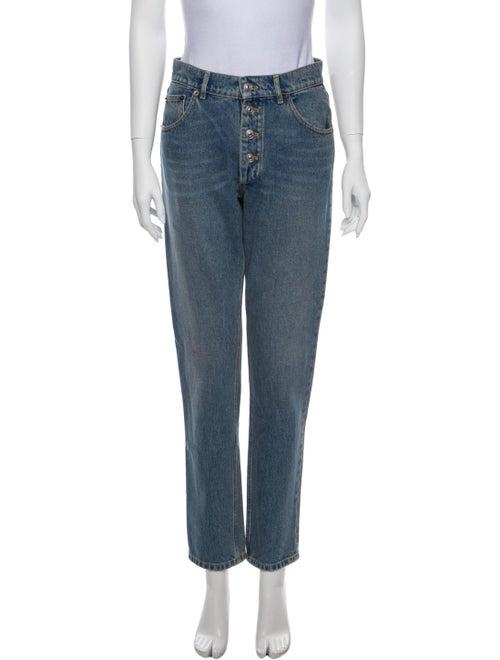 Balenciaga 2017 Straight Leg Jeans Blue