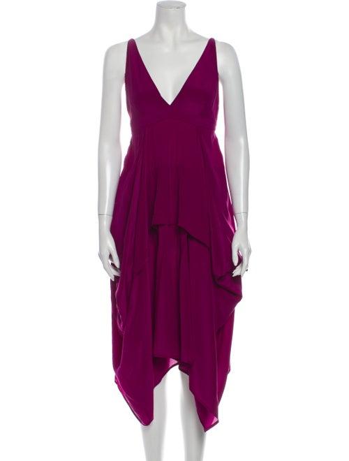 Balenciaga Vintage Long Dress Pink