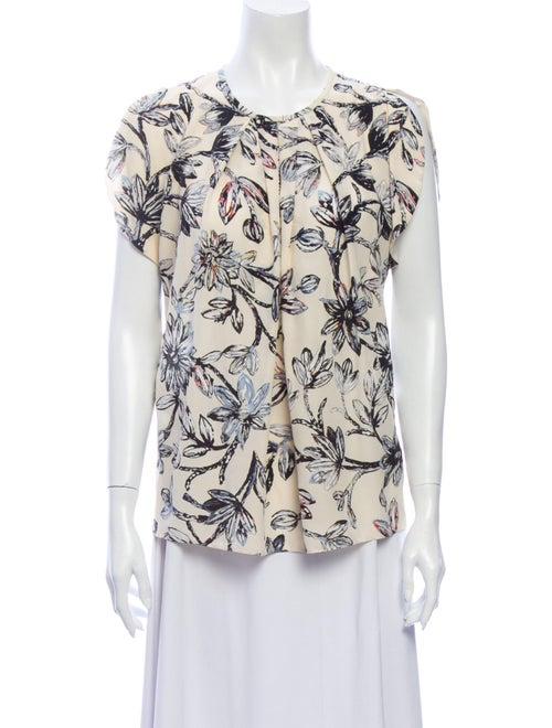 Balenciaga Silk Printed Blouse