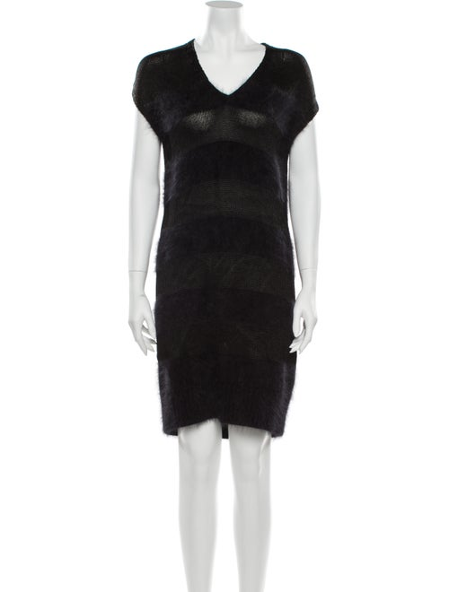 Balenciaga 2010 Mini Dress Black