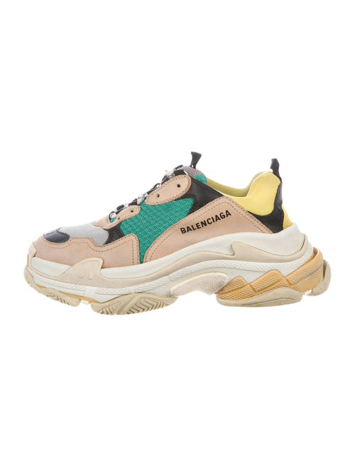 Balenciaga Triple S Sneakers Chunky Sneakers Green