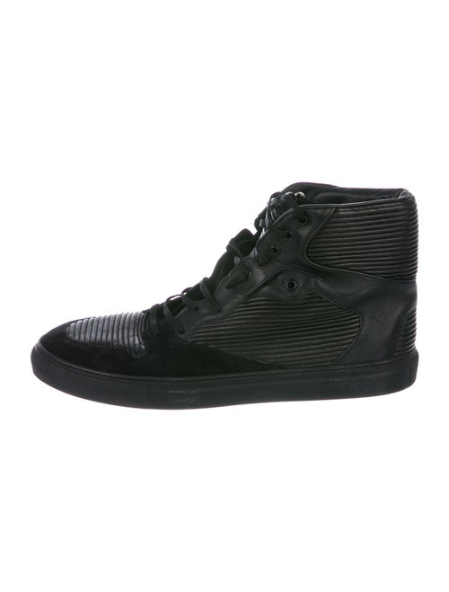 Balenciaga Leather Sneakers Black
