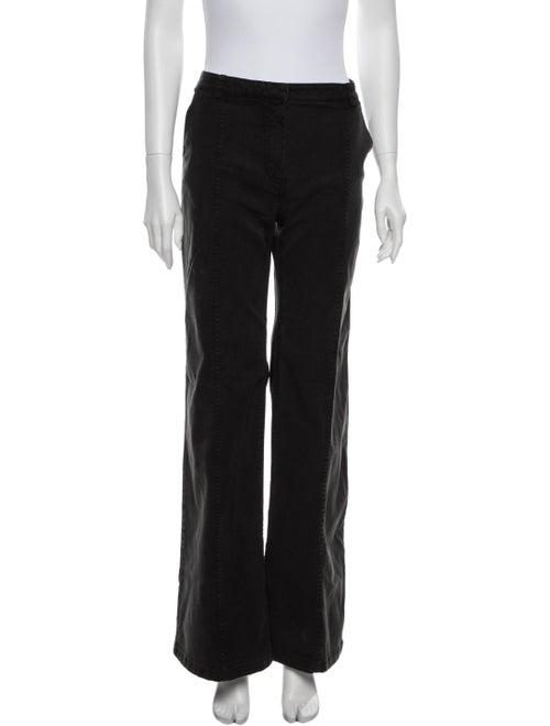 Balenciaga Mid-Rise Wide Leg Jeans Grey