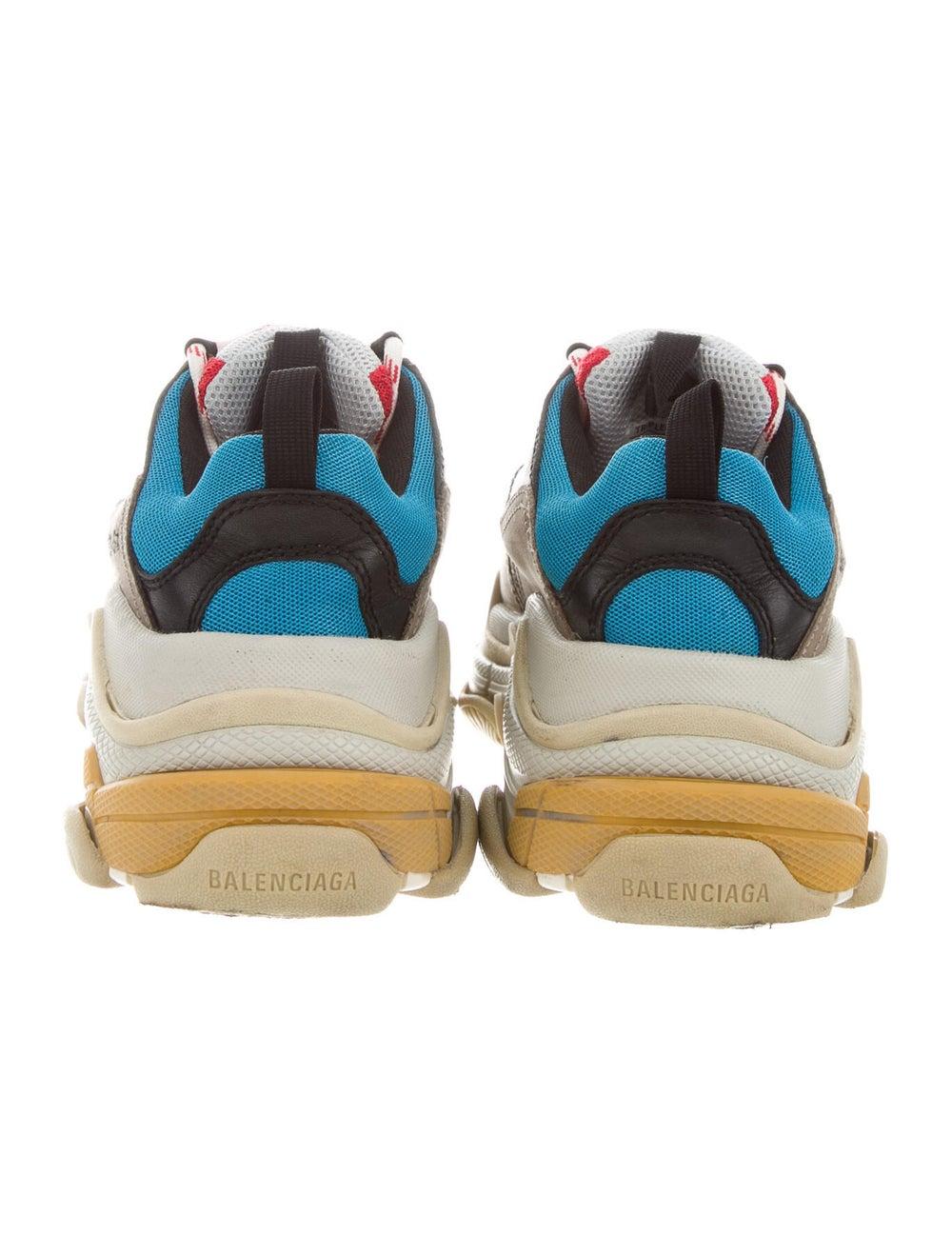Balenciaga Colorblock Pattern Chunky Sneakers Grey - image 4
