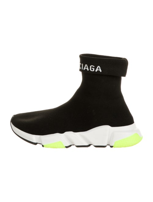 Balenciaga Speed Trainer Sock Sneakers Black