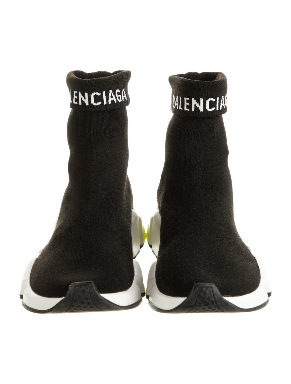 Balenciaga Speed Trainer Sock Sneakers Black - image 3
