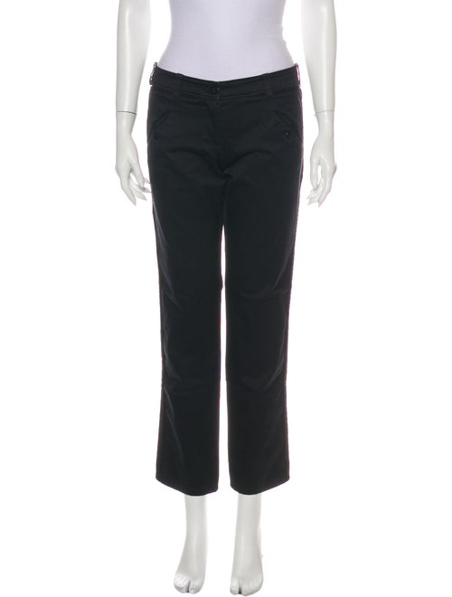 Balenciaga 2007 Straight Leg Pants Black