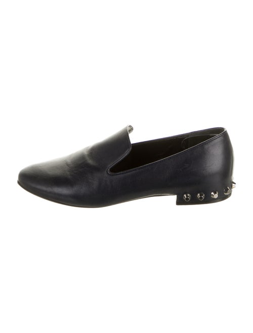 Balenciaga Leather Loafers Blue