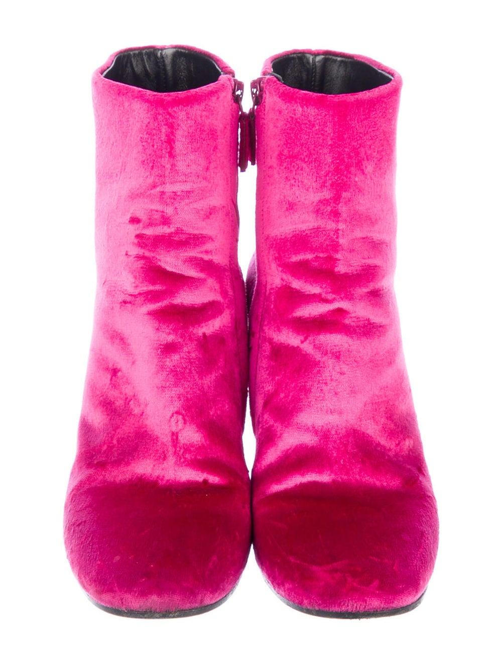 Balenciaga Boots Pink - image 3