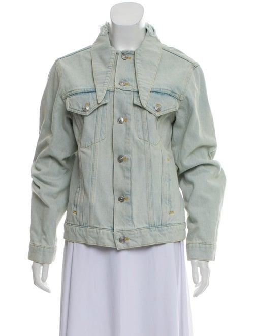 Balenciaga Distressed Denim Jacket w/ Tags denim