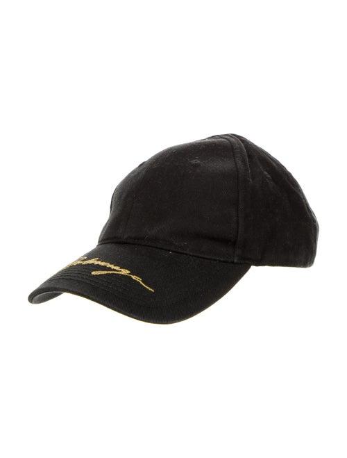 Balenciaga Logo Baseball Cap black